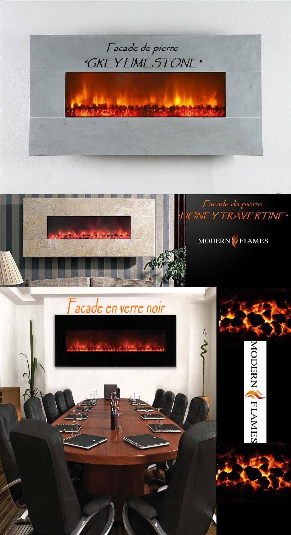 Foyer Electrique Modern Flames : Poêles et foyers keystone Électrique