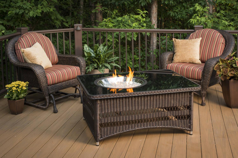 Construire Un Foyer Extérieur poêles et foyers keystone | table de feu extérieur haut de gamme